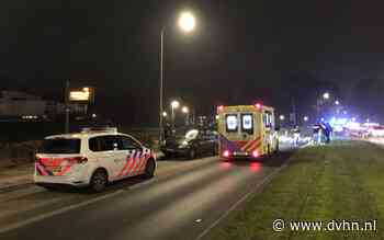 Voetganger aangereden door auto in Groningen, Kluiverboom tijdelijk dicht voor verkeer