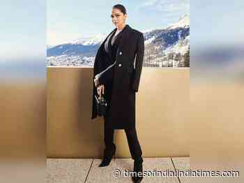 Pic: Deepika is taking Davos by a style storm