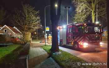 Gaslek in Wijster, brandweer zet weg af