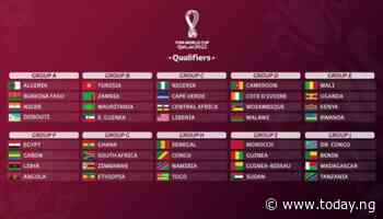 2022 WCQ: Nigeria draw Cape Verde, Liberia, CAR