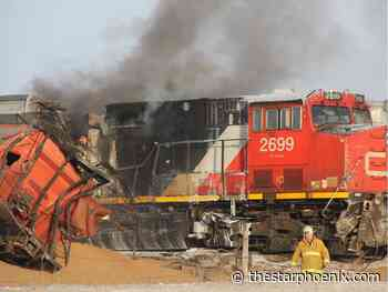 Saskatoon Fire Department marks one year since derailment with call for regional response plan