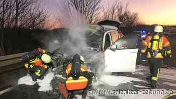 #: Auto brennt auf der A 39 bei Braunschweig