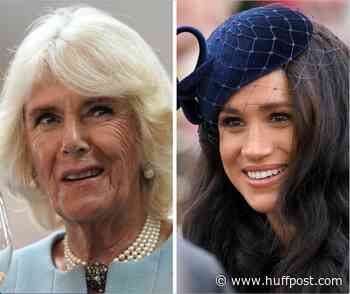 Camilla Creates A Stir Answering A Question About Harry And Meghan