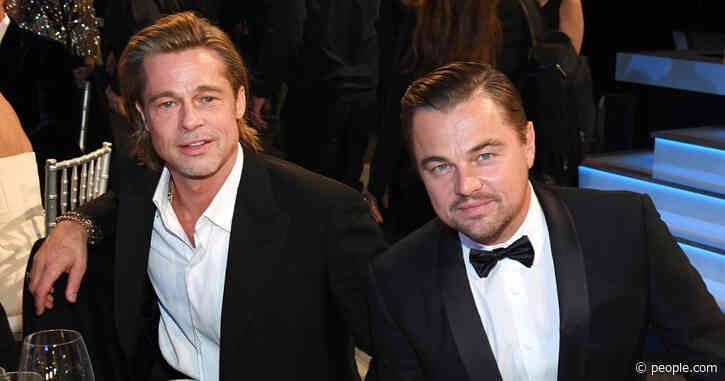 Brad Pitt Reveals Leonardo DiCaprio's Nickname for Him Is 'Lover': 'I Roll with It'