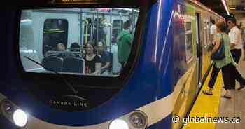 Metro Vancouver's Canada Line adds first 4 of dozen new trains, boosting service