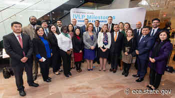 Launching the 80th Anniversary of the International Visitor Leadership Program