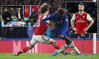 Ferdinand, Keown and Cole lay into Arsenal's Mustafi and Luiz