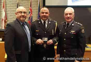 Kirk Earley sworn in as deputy chief for Chatham-Kent police
