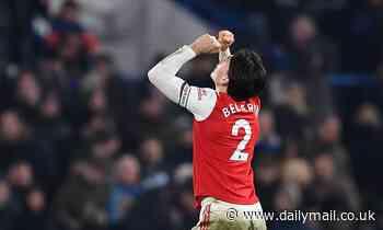 Chelsea vs Arsenal - Premier League 2019/20, RECAP: Bellerin gets late equaliser