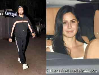 Pics: Vicky & rumoured GF Katrina gets snapped