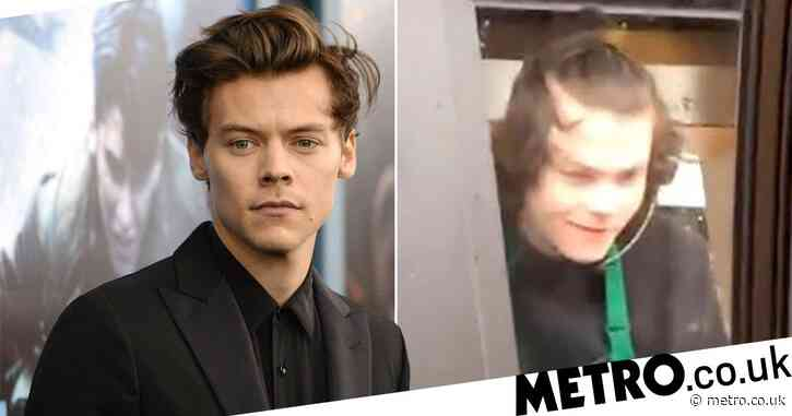 Harry Styles fans are going wild for his Starbucks doppelganger – and we can see why