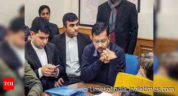 With token no. 45, Kejriwal waits 6 hours to file nomination; AAP alleges plot