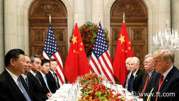 US-China tension heightens worry that 'decoupling' is irreversible