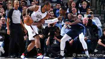 Kawhi Clippers Take Down The Mavericks Nba Twitter Top10