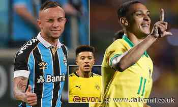 Borussia Dortmund 'have lined up replacements' for Jadon Sancho in Brazilian pair Antony and Everton