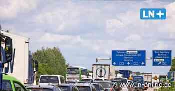 Stau im Sommer: Sperrung der Autobahn-Abfahrt Lübeck-Zentrum