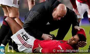 Man Utd star Marcus Rashford insists he will return from back injury before the end of the season
