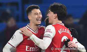 Hector Bellerin heaps praise on Arsenal starlet Gabriel Martinelli after helping Arsenal to draw