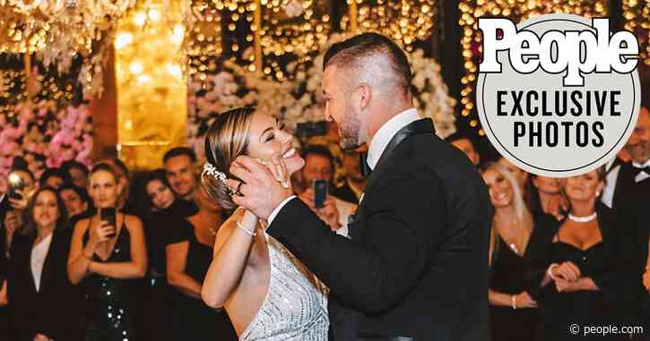 All About the Two Gorgeous Wedding Dresses Demi-Leigh Nel-Peters Wore to Marry Tim Tebow