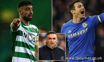 Manchester United target Bruno Fernandes compared to Frank Lampard by Carlos Carvalhal