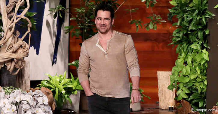 Colin Farrell Jokes He Had a 'Parental Dropping of the Ball' by Letting Son, 8, Watch It