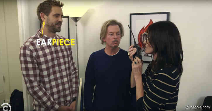 Courteney Cox and David Spade Secretly Coach Former Bachelor Nick Viall at Stand-Up Comedy Set