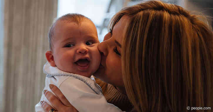 Jenna Bush Hager Shares Sweet New Photos of Baby Hal, Says She 'Still Can't Believe He Is Mine'