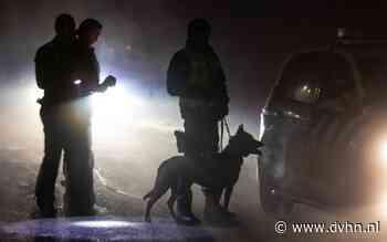 Politie treft achtergelaten auto aan en start zoekactie langs de Matsloot gekleed in kogelwerende vesten