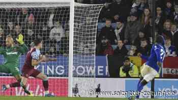 Premier League: Leicester siegt gegen West Ham - Tottenham schlägt Norwich