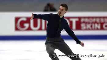 Europameisterschaft in Graz: Eiskunstlauf-EM: Fentz überrascht - Hase/Seegert Fünfte