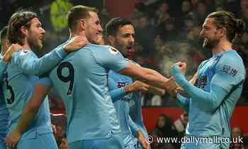 Manchester United 0-2 Burnley: Top strikes from Chris Wood and Jay Rodriguez shock United