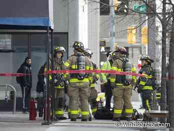 Photo: High-rise fire