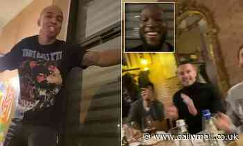 Ashley Young serenades new Inter Milan team-mates with rendition of Bob Marley's Three Little Birds
