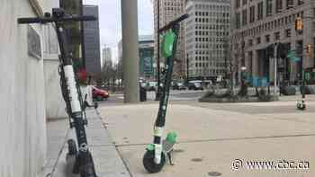 E-scooters one step closer to hitting Windsor streets, could be banned from sidewalks, trails