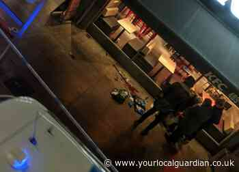 Pool of blood left outside West Norwood KFC after man attacked