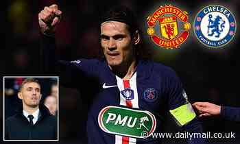 Darren Fletcher says Man United can't allow Chelsea to beat them to signing of PSG's Edinson Cavani