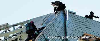 Pont Jacques-Cartier bloqué : Les trois militants comparaissent