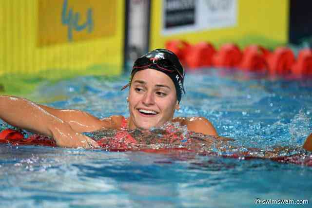 Chalmers Opts Out Of 50 Free Final While McKeown Clocks PB In The Event