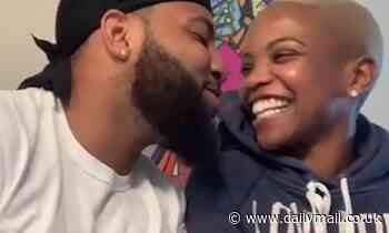 Loving husband serenades his wife to comfort her ahead of her second operation for brain cancer