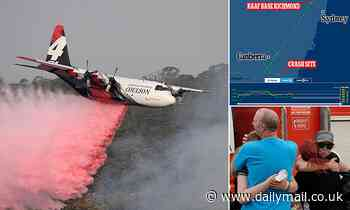 Hero American waterbomber crew were flying eight missions a day