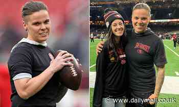 San Francisco 49ers' Katie Sowers will become the first female  to coach in a Super Bowl