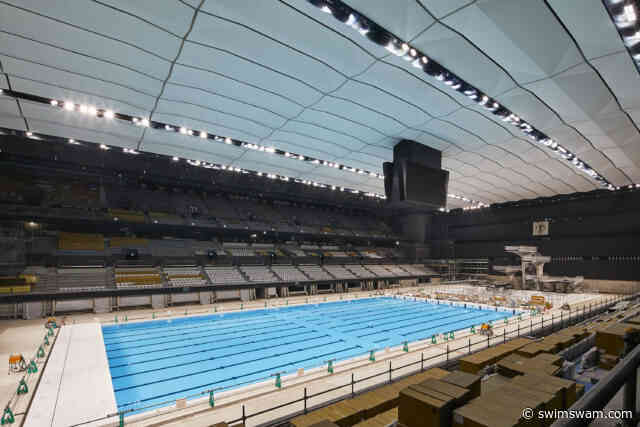 Tokyo Olympic Aquatics Center Ribbon-Cutting Ceremony Slated For March