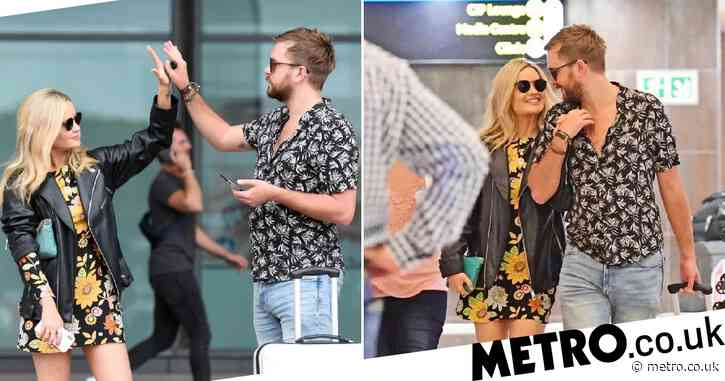 Love Island's Laura Whitmore surprised by romantic Iain Stirling at South Africa airport