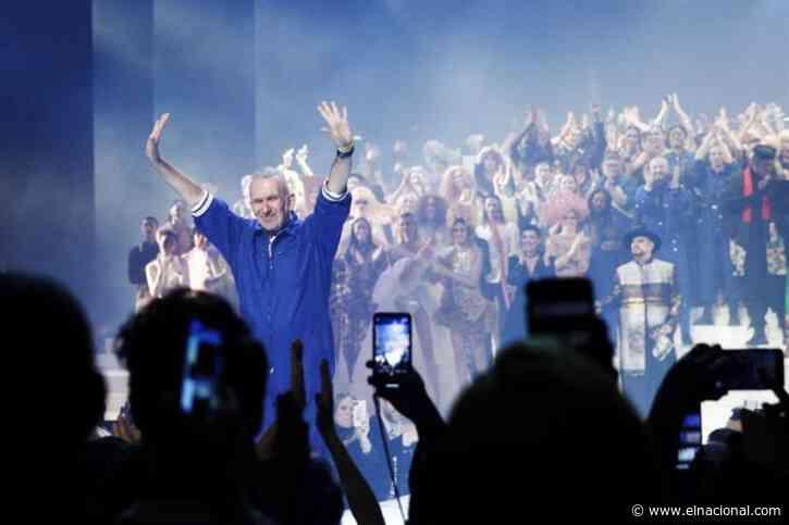 París se inclina ante Gaultier en su adiós a las pasarelas