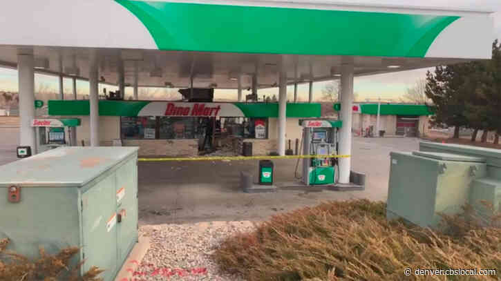 Attempted Smash & Grab: Driver Plows Car Into Bank, Gas Station