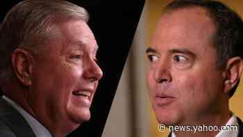 Graham praises Schiff on impeachment presentation: 'You're very well-spoken'