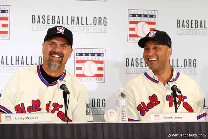 Odd Couple: Larry Walker, Derek Jeter Take Different Routes To Hall