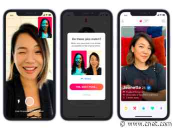 Tinder safety features target fake profiles, gross chats, bad situations     - CNET