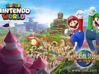 Super Nintendo World leaps into Universal's upcoming theme park in Orlando     - CNET