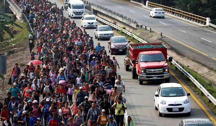 Trump Administration Praises Mexico for Blocking Central American Migrant Caravan
